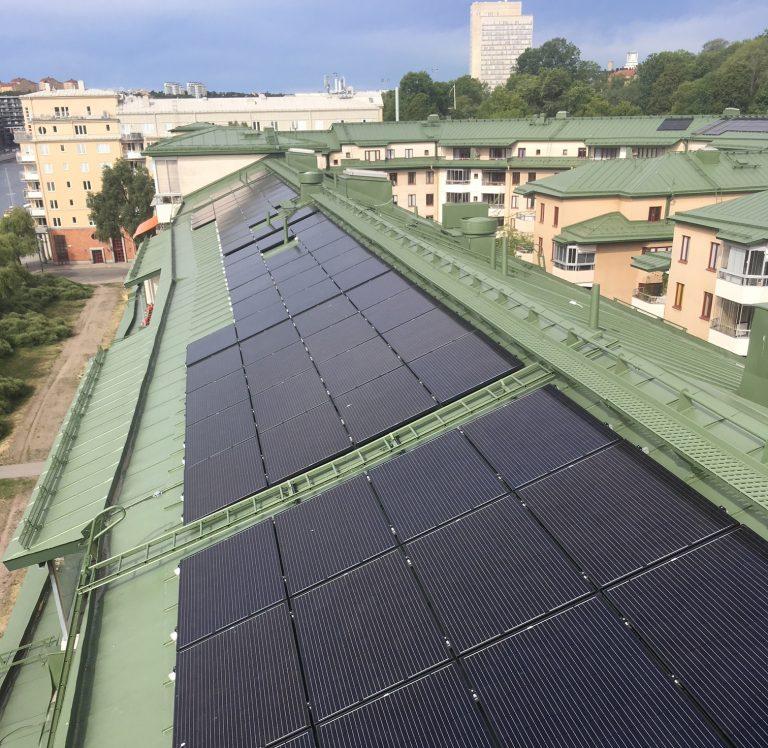 solceller för företag