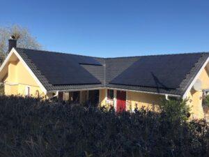 Installera solceller på tak