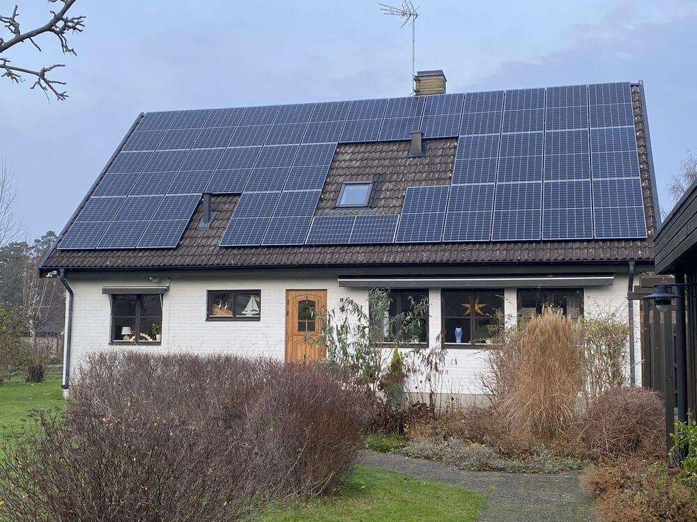 produktionsgaranti på solpaneler