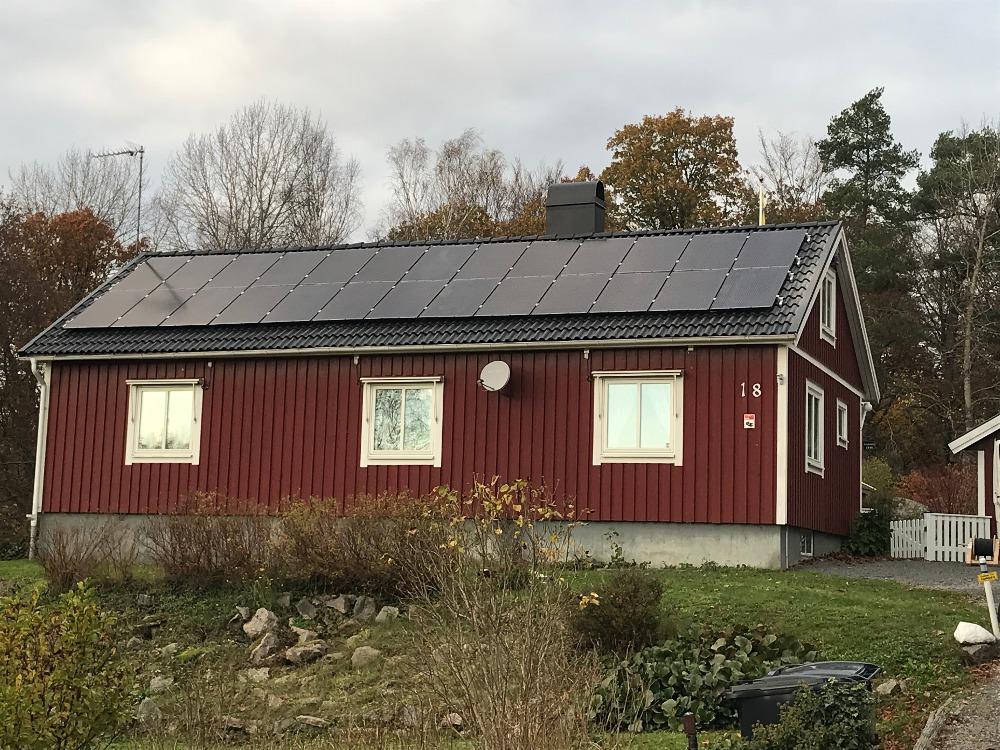 Sälj solpaneler sverige
